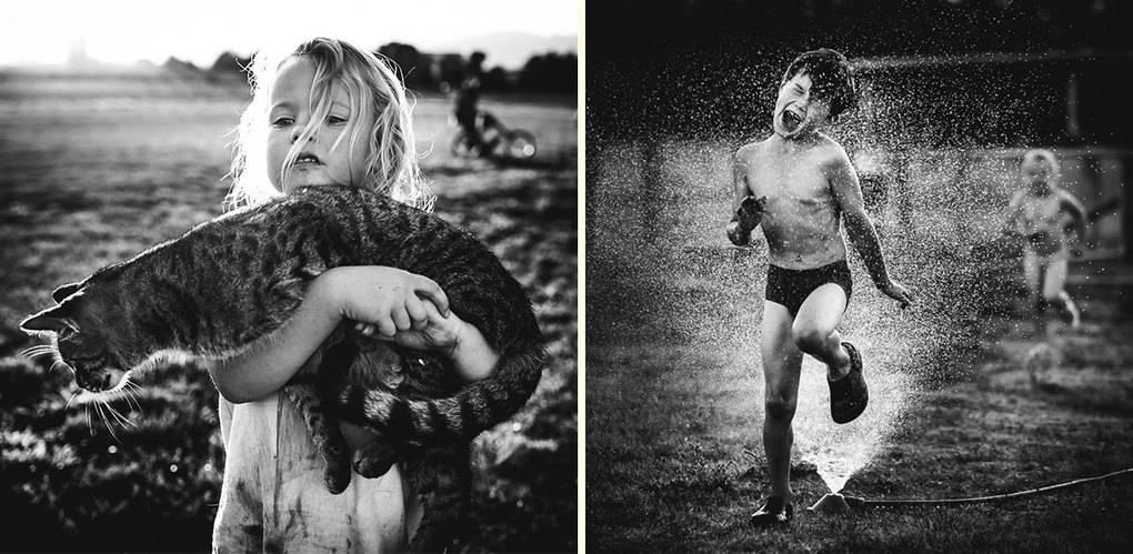 Мама-фотограф запечатлела детство своих детей без электронных девайсов