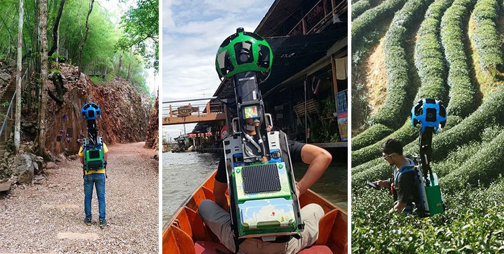 Парень прошел 500 километров по Таиланду с этой штукой за плечами с одной целью