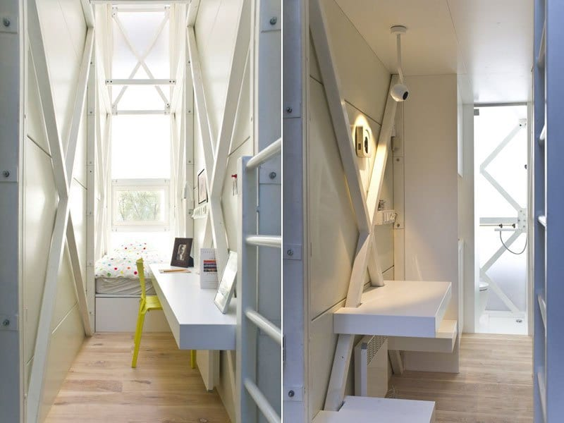 worlds skinniest house keret house in warsaw poland (10)