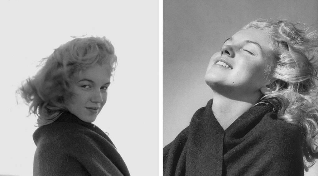 Редкие фото 20-летней Мерилин Монро