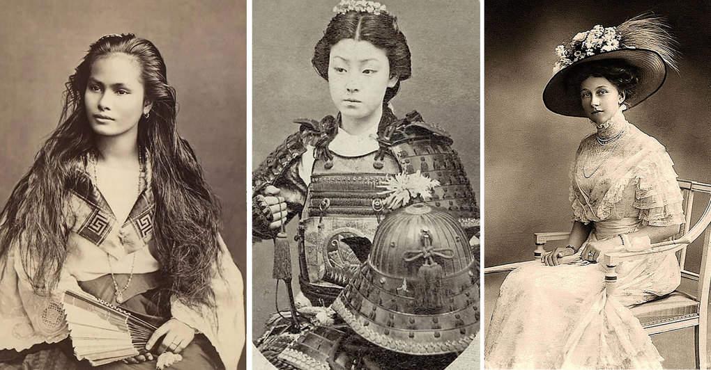 Женская красота 100 лет назад