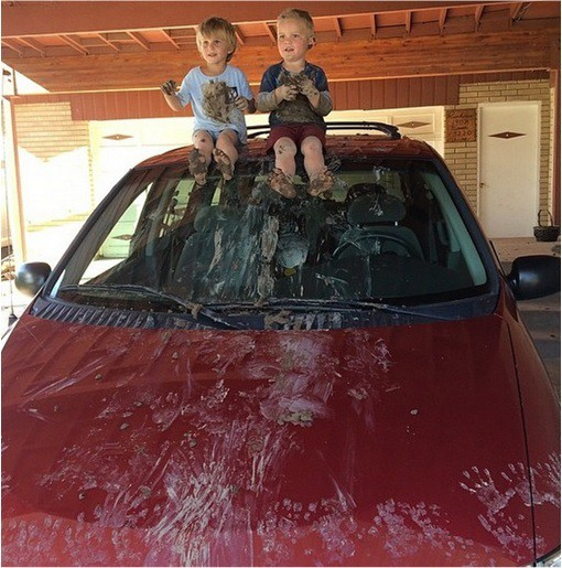 Kids-Are-The-Worst-Mud-on-Car