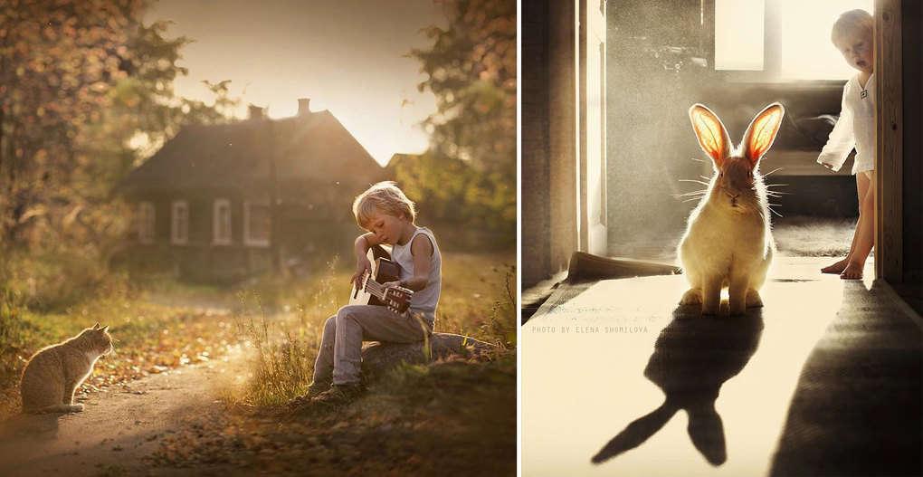 20 невероятно теплых фотографий про лето в деревне