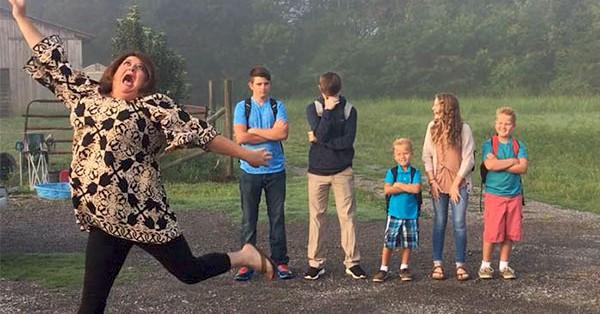 10 фотографий о том, как чувствуют себя родители 1го сентября