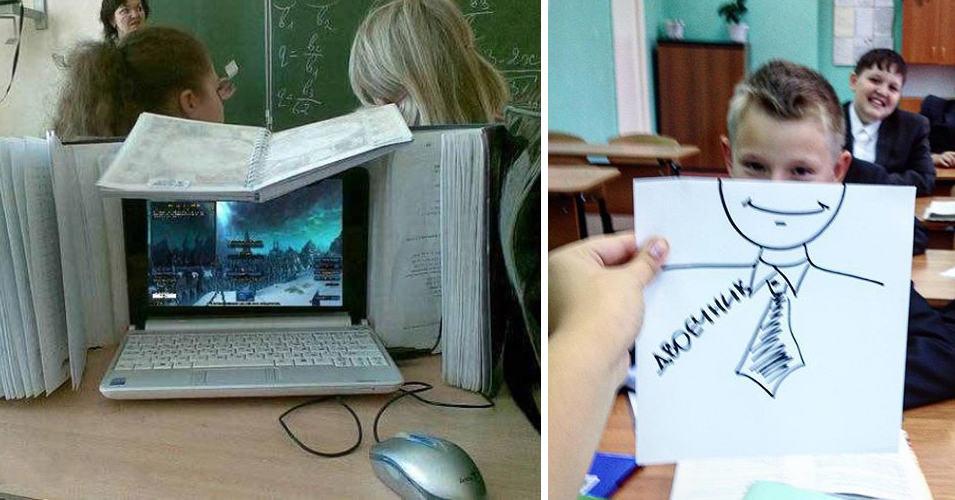 15 фотографий, доказывающих, что дети в школе не теряют время зря