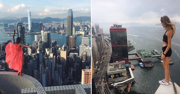 Охота за адреналином: девушка из Москвы покоряет самые высокие здания мира