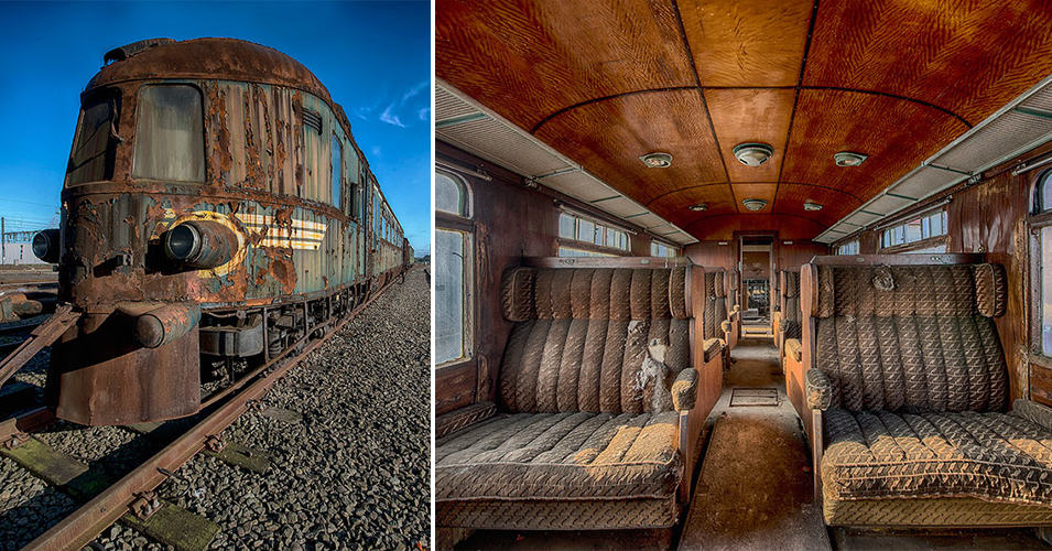 Заброшенный «Восточный экспресс» 1883 года напоминает о роскошном железнодорожном прошлом