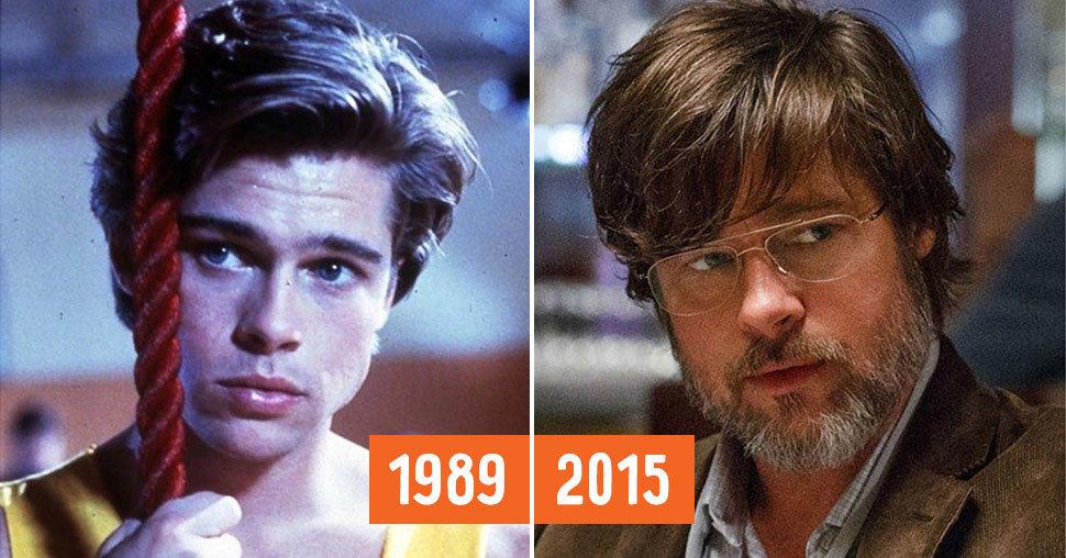 30 знаменитых актеров в своих ранних и современных ролях