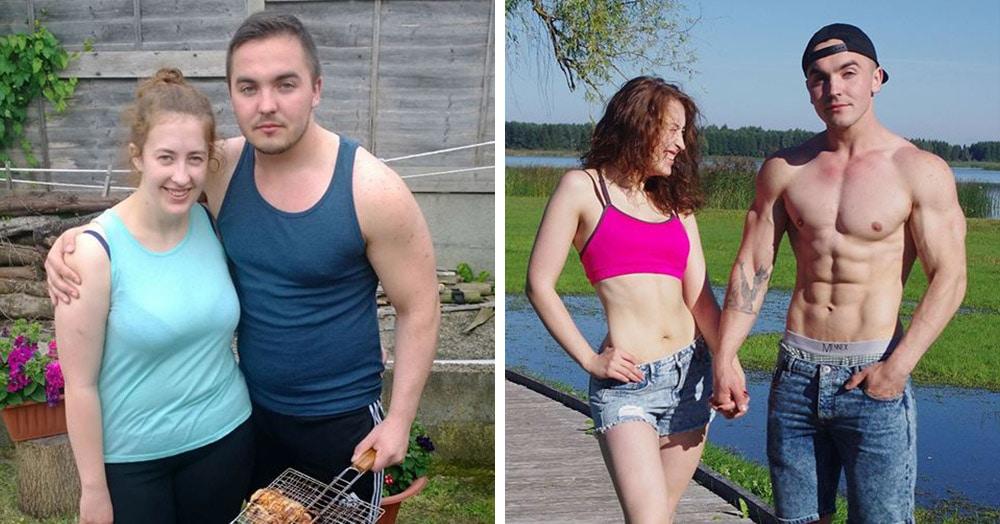 20 влюбленных пар, которые смогли сбросить лишний вес вместе
