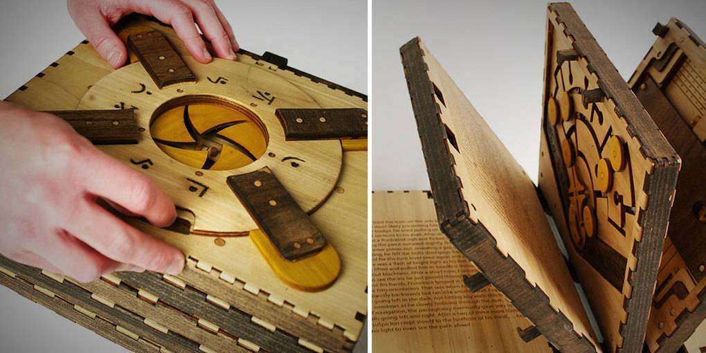 Вы должны решить головоломку, чтобы открыть следующую страницу в этой книге