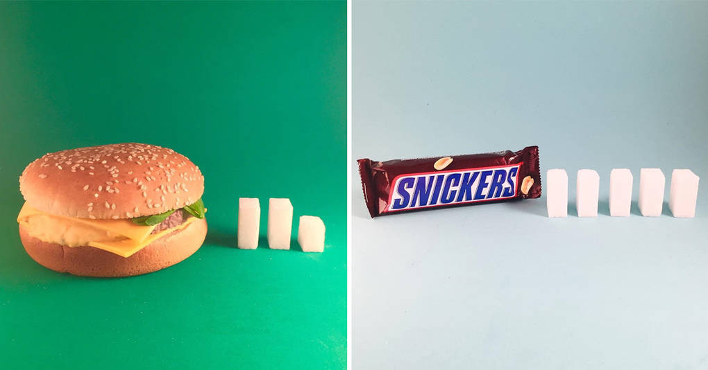 Сколько сахара содержится в нашей повседневной еде?