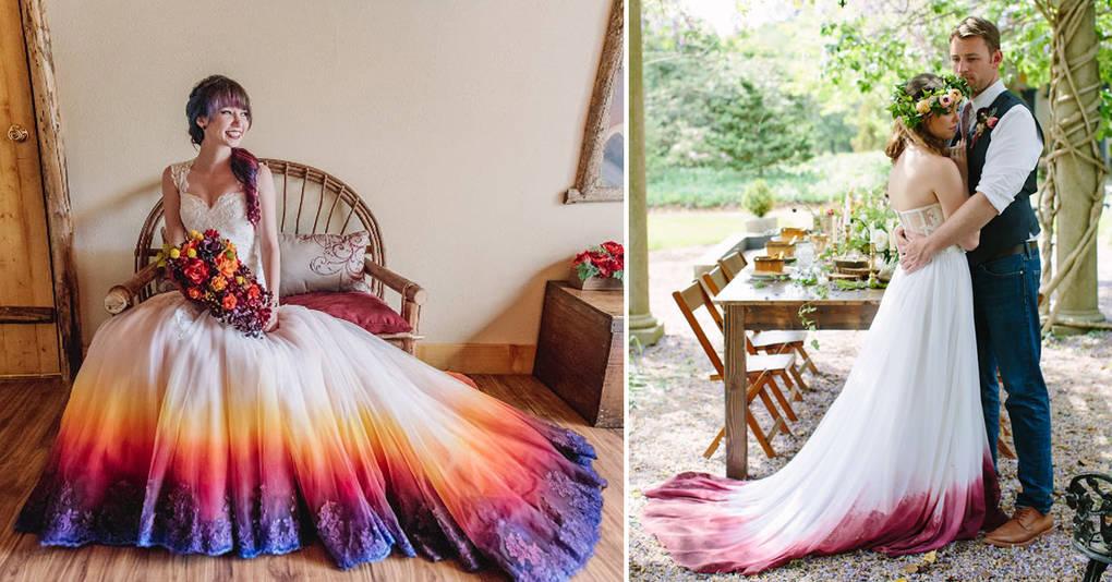 15 нестандартных платьев, которые сделают день вашей свадьбы еще ярче