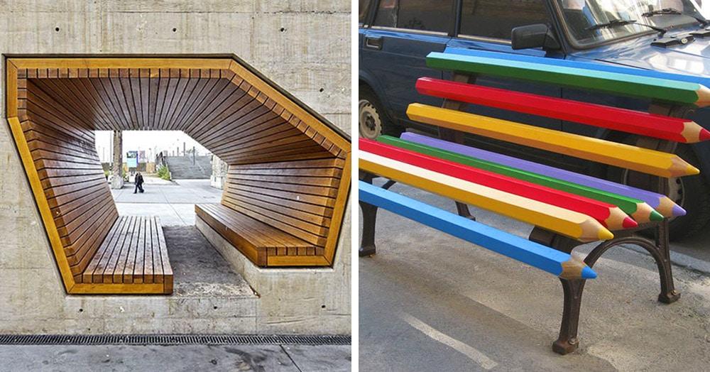 15 креативных скамеек со всего света, от которых приятно не только пятым точкам, но и глазам
