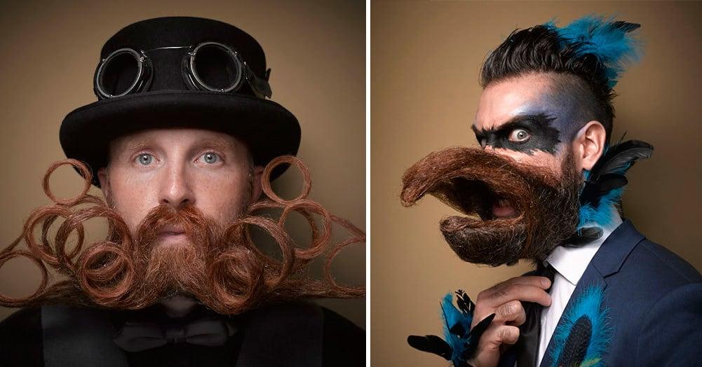 Самые колоритные участники конкурса бород и усов 2016