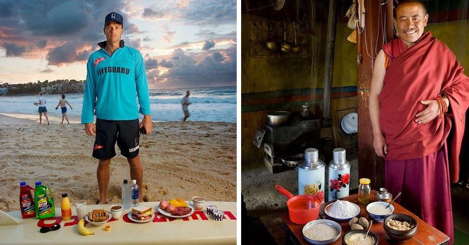 Фотопроект: что едят обычные люди в разных странах мира?