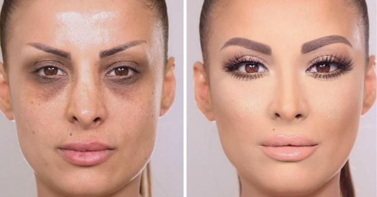 12 фотографий, доказывающих, что макияж — великая сила