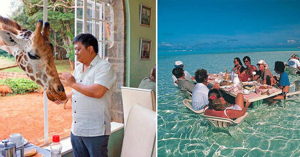 15 самых удивительных ресторанов мира, визит в которые вы никогда не забудете