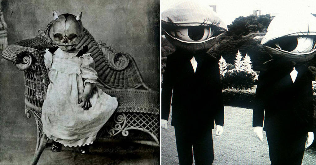 20 костюмов на Хеллоуин из прошлого, которые испугают вас до смерти