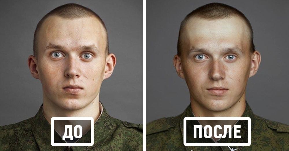 Как российская армия меняет человека: фото «до» и «после»