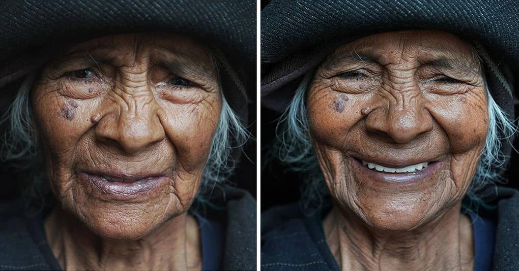 Как меняется лицо человека, если сказать ему, что он прекрасен?