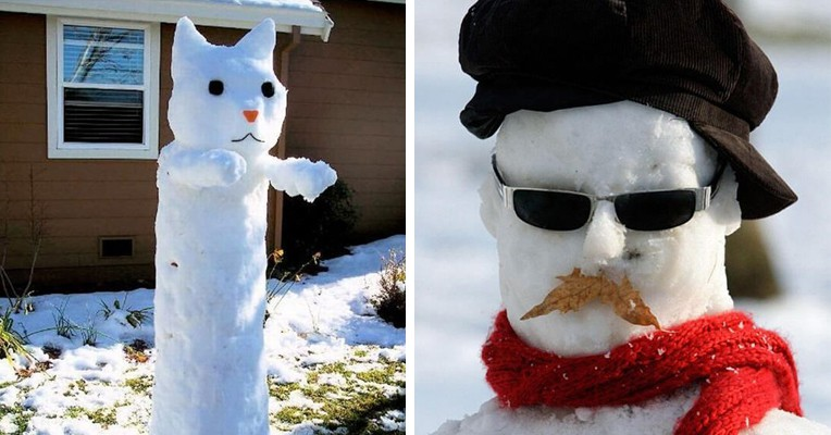 20 самых крутых снеговиков от мастеров с безграничной фантазией