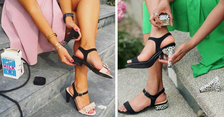 Мечта всех женщин сбылась: туфли со съёмными каблуками