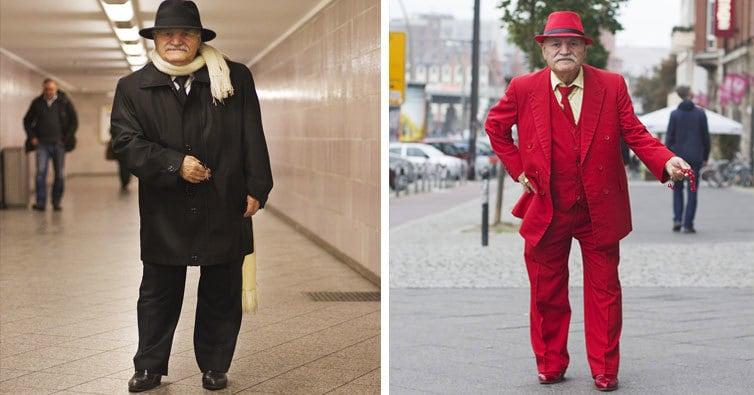 83-летний дедушка каждый день удивляет своими стильными нарядами