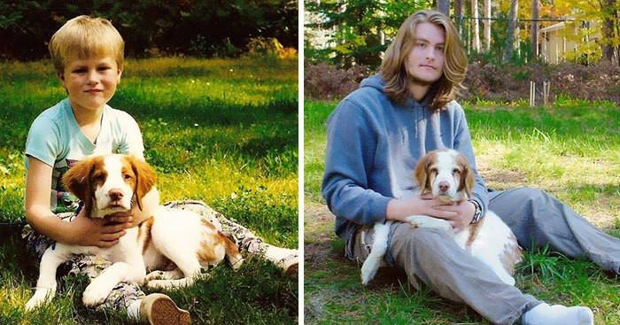 17 собак, выросших вместе со своими владельцами