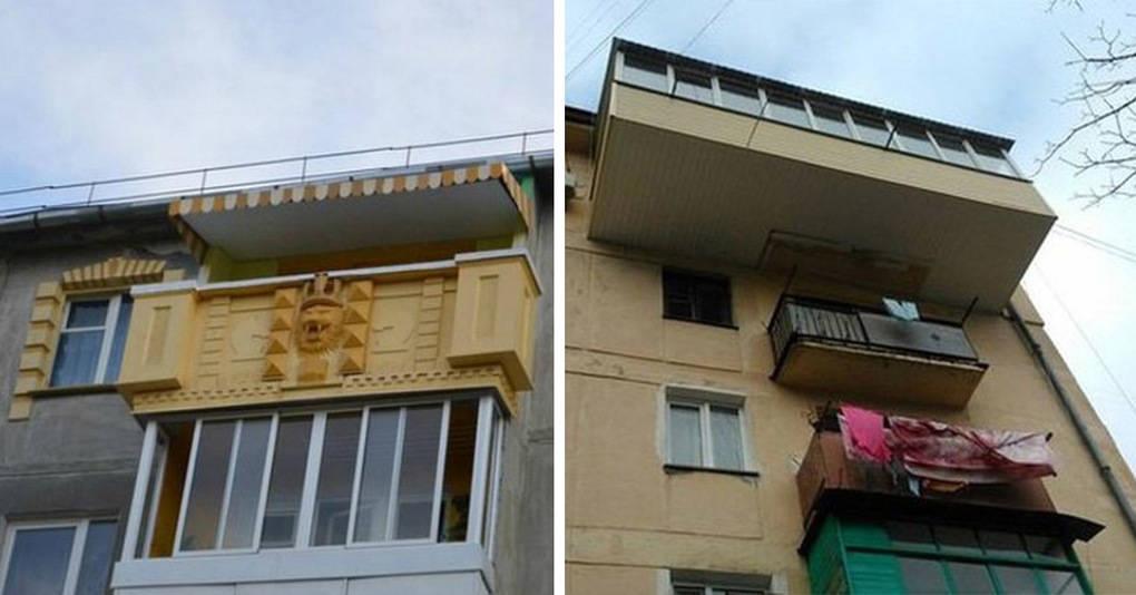 15 невероятных балконов, чьи владельцы очень постарались