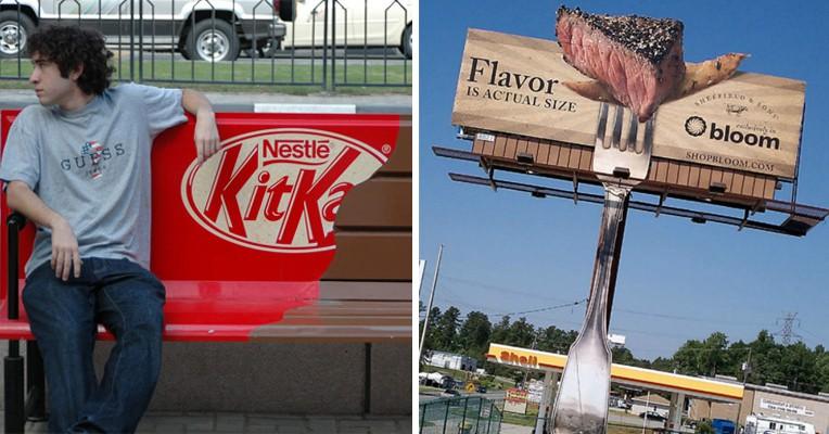25 примеров наружной рекламы, мимо которой пройти просто невозможно