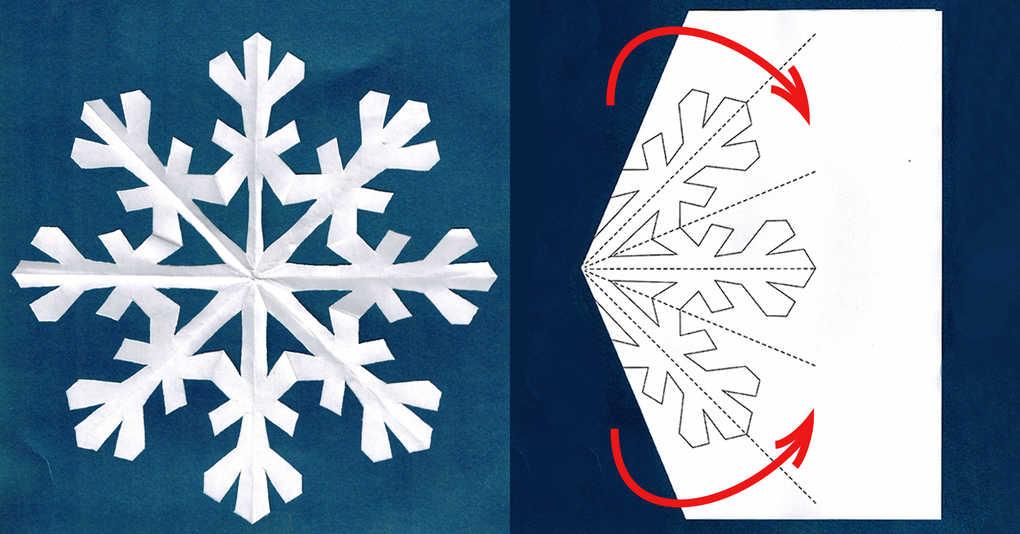 15 схем восхитительных бумажных снежинок, которые вы можете просто распечатать и вырезать