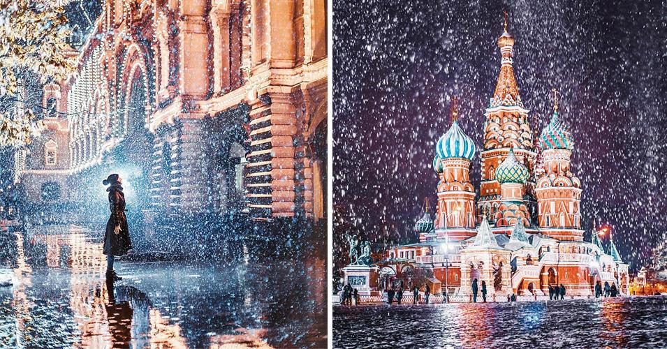 20 волшебных фотографий зимней Москвы, которые окунут вас в сказку