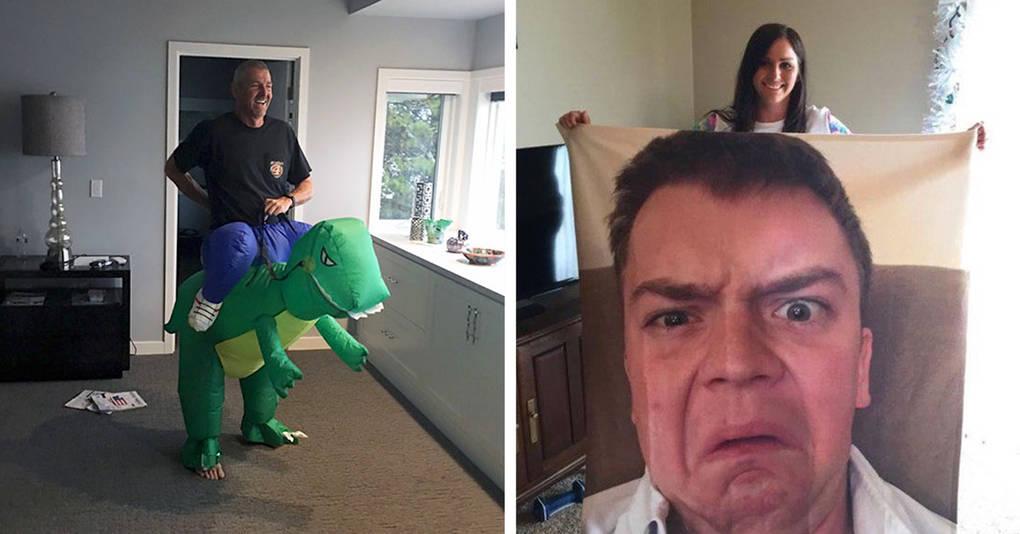 25 фотографий родителей, чьё чувство юмора лучше, чем у детей