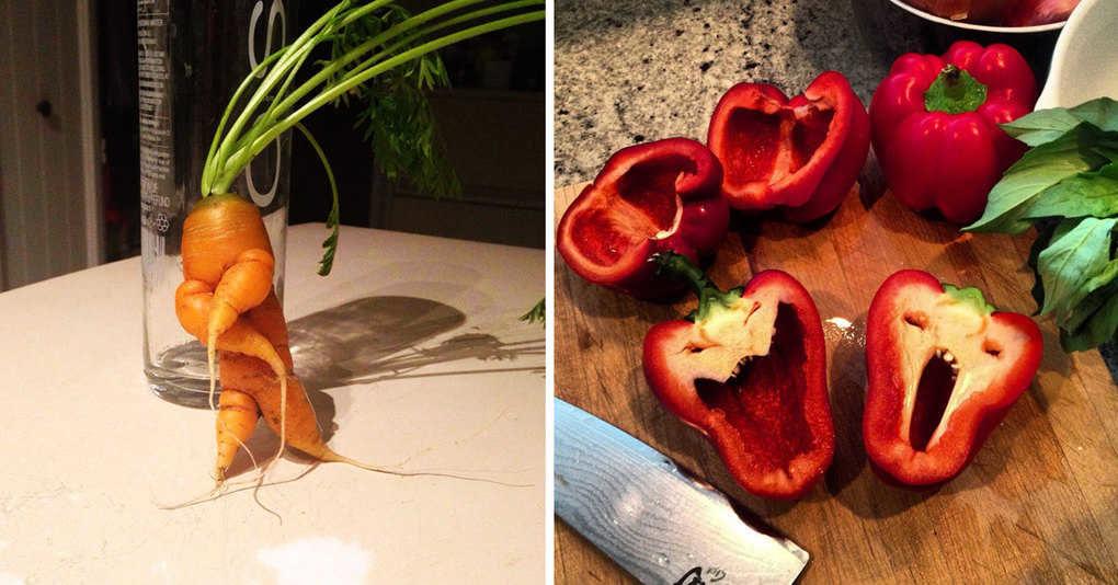 25 самых необычных фруктов и овощей, на которые нужно посмотреть дважды