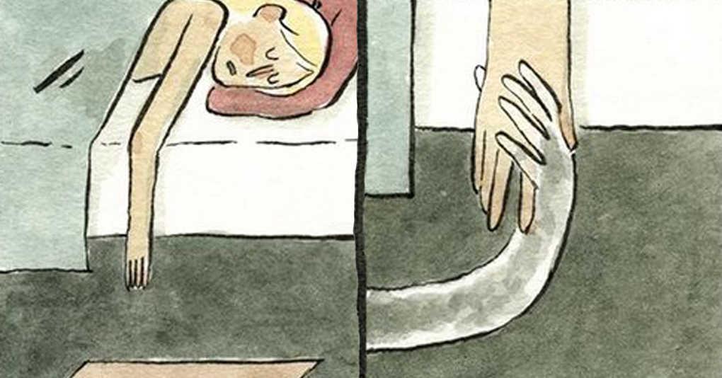 18 комиксов о самых глубинных и тёмных страхах, которые точно есть и у вас