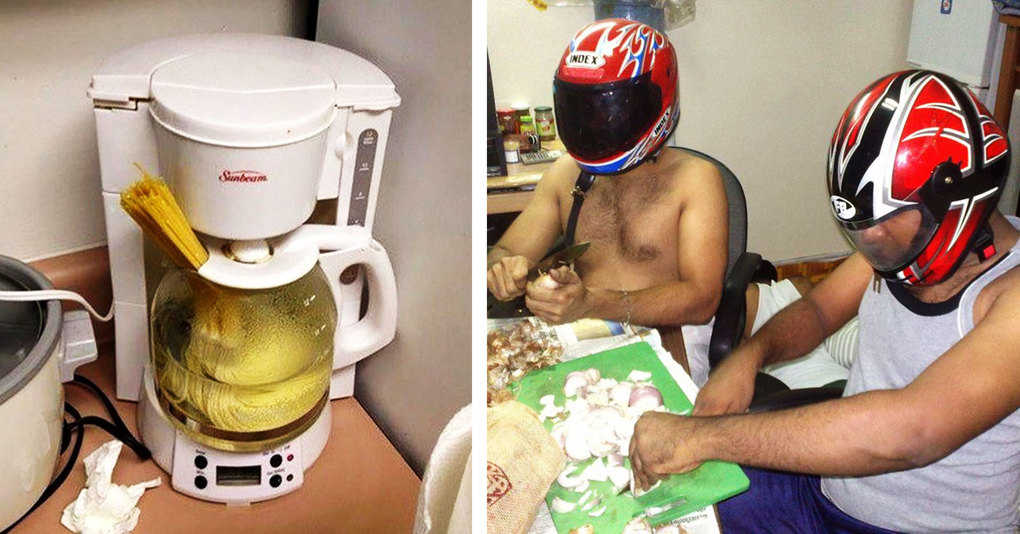Вот, что бывает, когда на кухне хозяйничает мужчина