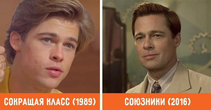 Как изменились эти 17 знаменитых актеров с начала своей карьеры
