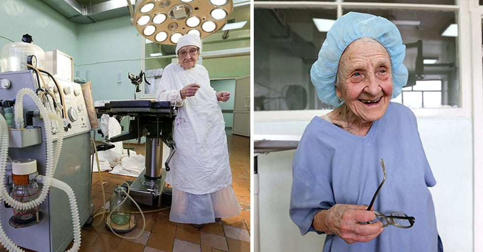 Старейший хирург в мире, она в свои 89 продолжает делать по 4 операции в день