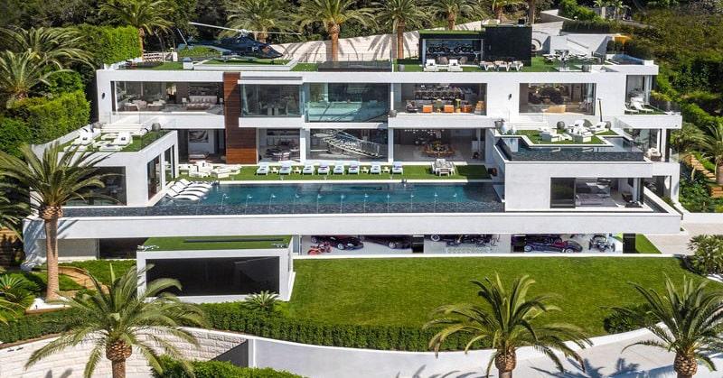 Вот так выглядит изнутри самый дорогой дом в США стоимостью $250 млн.