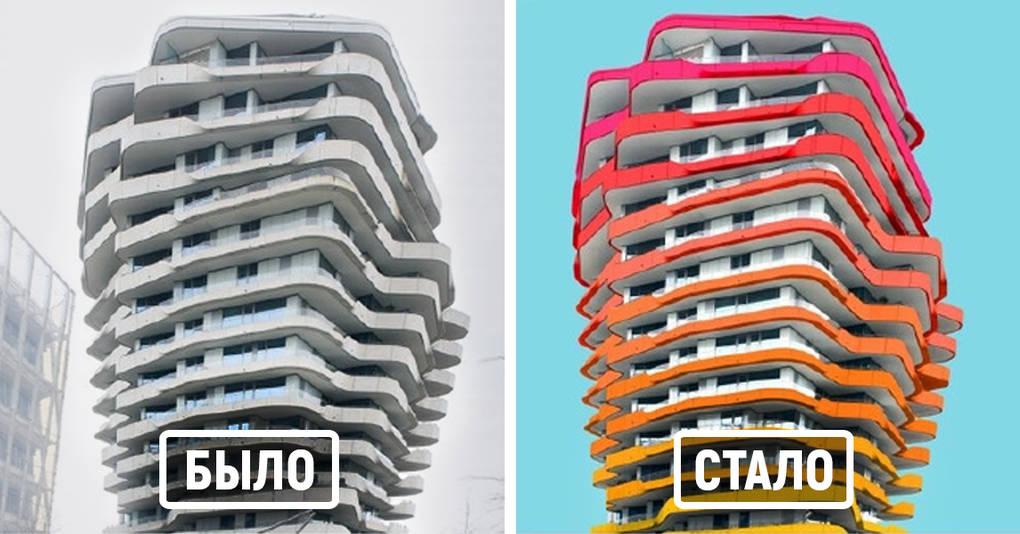 Студент-архитектор устал от серых зданий Берлина, и вот что он решил сделать