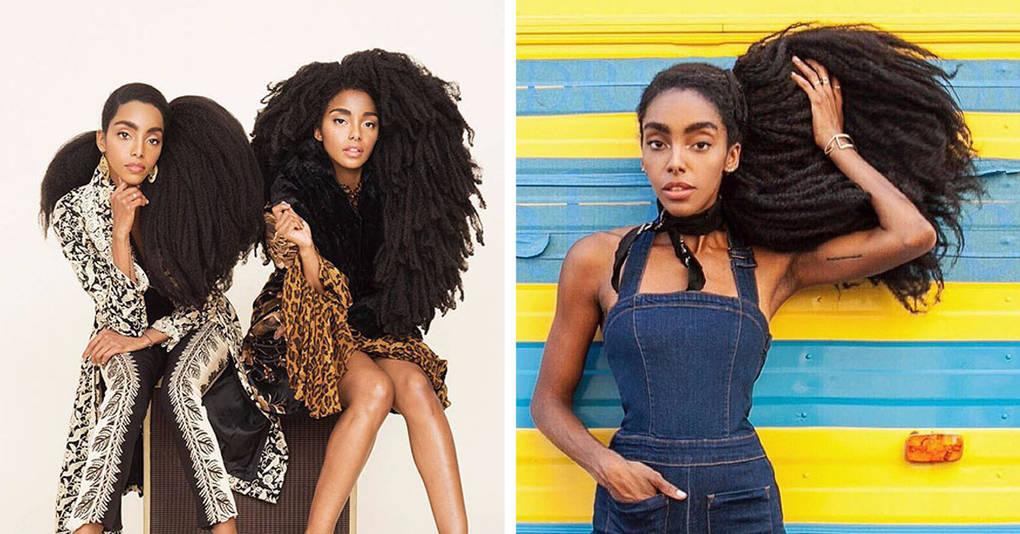Сестры-близняшки, которые ломают все стереотипы об афроприческах