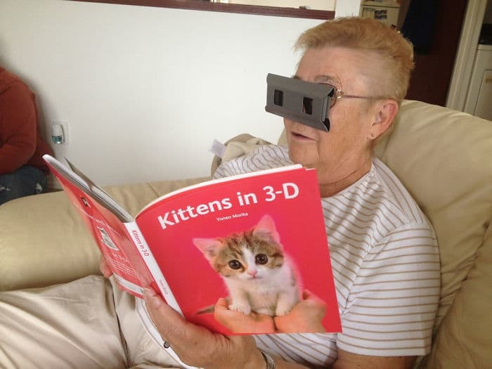 My Grandma Is Getting Pretty High Tech These Days...