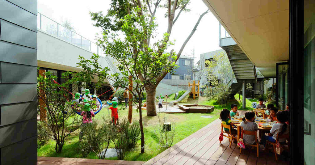 Этот детский сад можно смело назвать самым крутым в мире