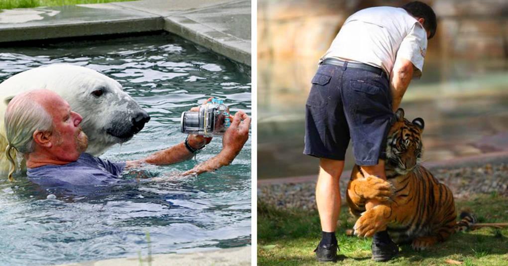 16 фотографий, доказывающих, что человек может подружиться с любым животным