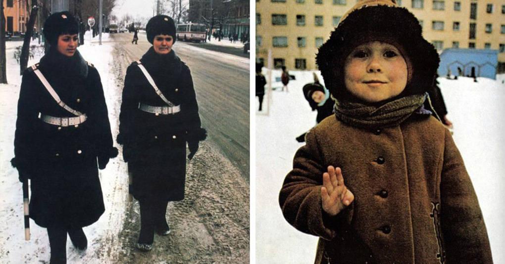 Атмосферные фотографии, сделанные американцем в Советском Союзе в 1970-х годах