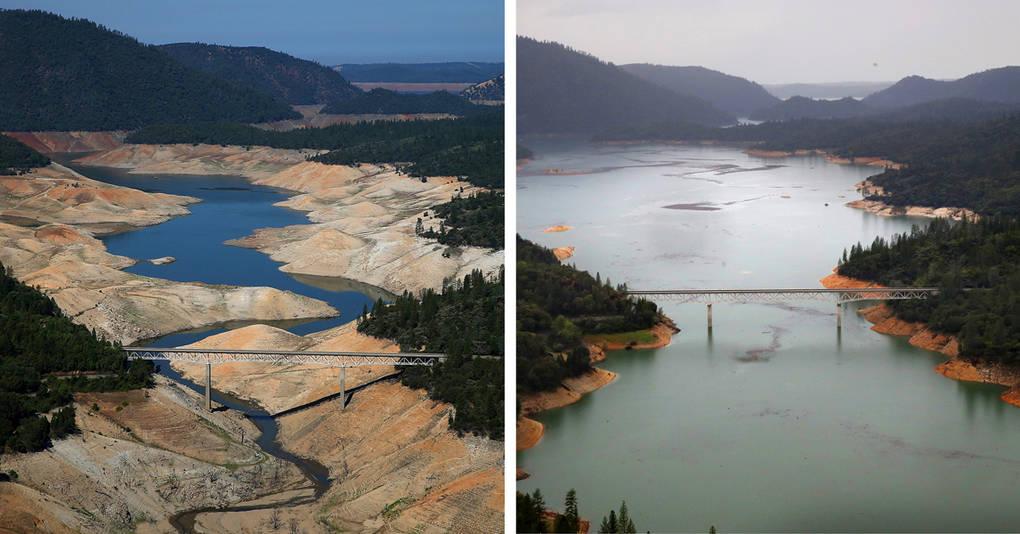 10 фотографий, которые покажут вам, как сильно засуха меняет природу