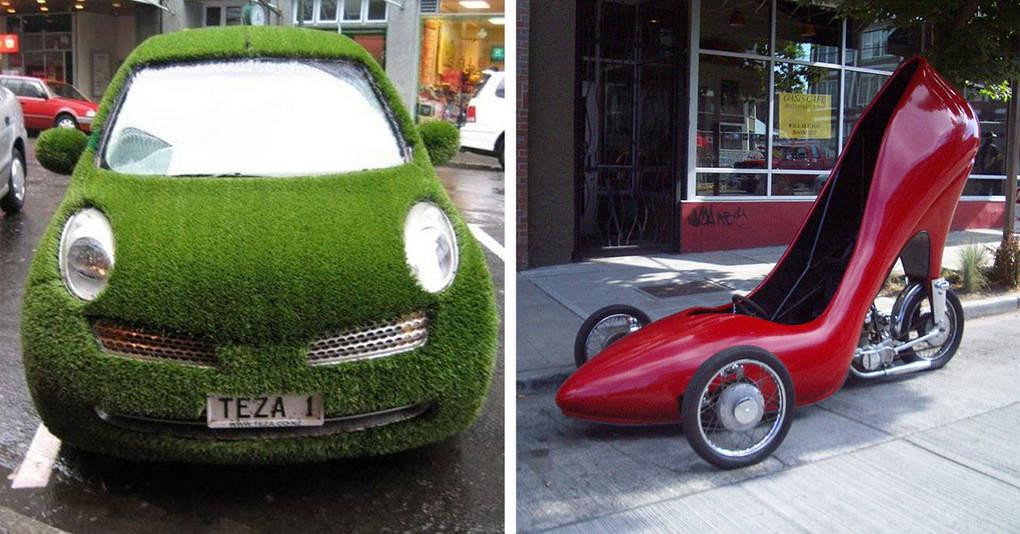 20 уникальных автомобилей, которые сломают ваше представление о транспорте
