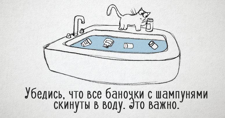 20 уморительных комиксов, которые расскажут вам, как стать котом