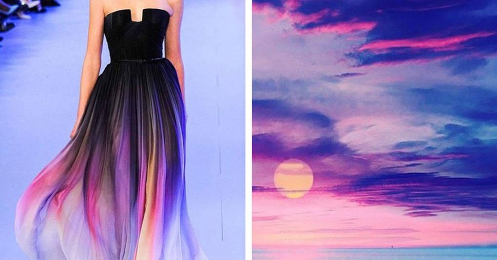 25 шикарных платьев, вдохновленных самой природой