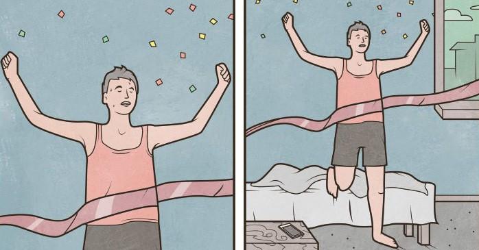 20 остроумнейших комиксов о жизни в нашей действительности